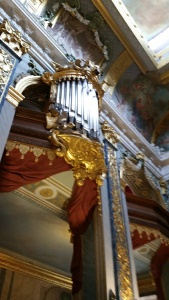 Organ at royal chapel at Charlottenburg palace