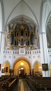 Organ at Marienkirche