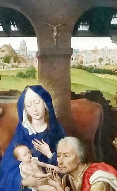 Detail of van der Weyden altar piece