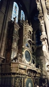 The cathedral houses one of the finest astronomical clocks.
