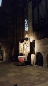 Medieval altar.