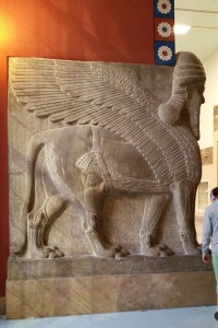 From an Assyrian Palace.