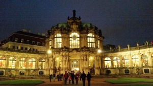 The Zwinger at night.
