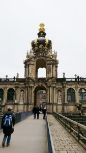 The Zwinger, a palace in Dresden
