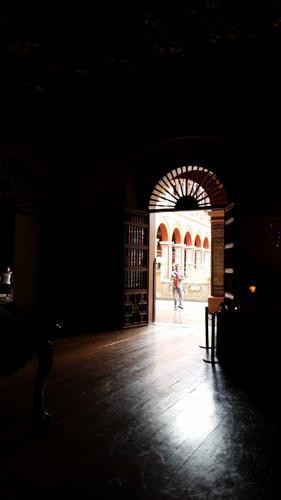 Entry into Dominican monastery