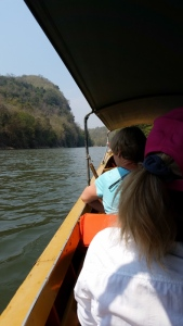 Boat ride on the River Kwai