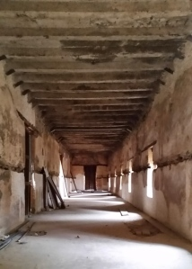 This was the banquet hall of Emperor Bakaffa (1721-30). It was used by the italians as a hospital during the occupation.
