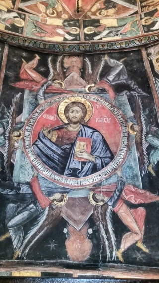 The Pantocrator.