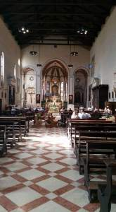 St. Mary, Servant of God Church. Padua, Italy.
