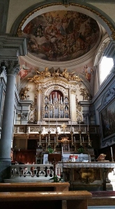 San Marco Church sanctuary in Florence, Italy.