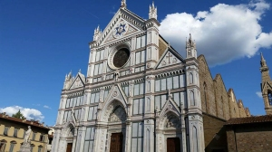 Santa Croce Church. Florence, Italy.
