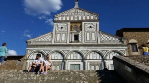 San Miniato Church. Florence, Italy.