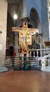 Crucifix. Cathedral. Pistoia, Italy.
