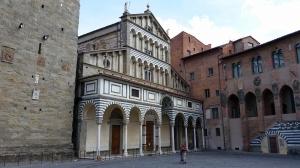 Duomo (cathedral) dedicated to Saints Zenon and James. Pistoia, Italy.