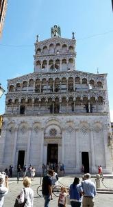 Saint Michael Church. Lucca, Italy.