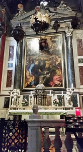 Side Altar. Cathedral. Pistoia, Italy.