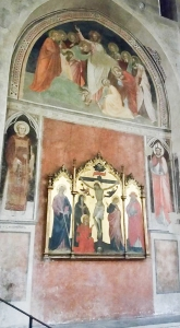 Devotional image. Cathedral. Pistoia, Italy.