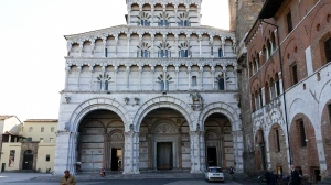 Duomo (Cathedral) of Saint Martin of Tours. Lucca, Italy.
