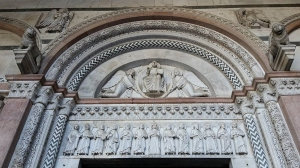 Detail of doorway. Cathedral of Saint Martin of Tours.