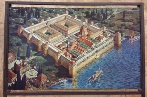 Rendering of Diocletian's palace.