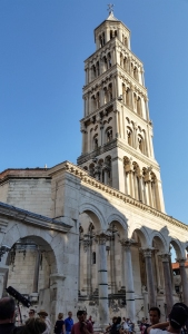 The cathedral bell tower.
