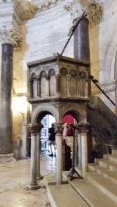 The pulpit.