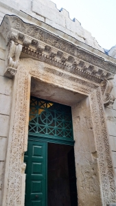 The portal to the temple of Jupiter.