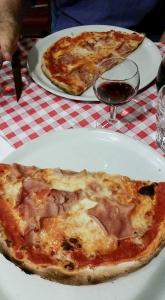 Lunch in Venice.