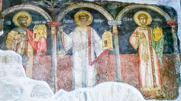 Frescoes from Bulgaria.