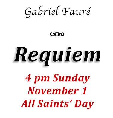 Invitation to hear Requiem