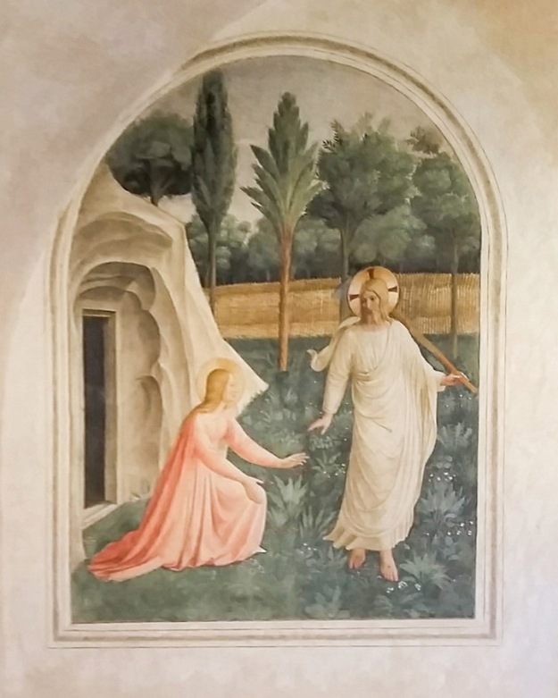 Fresco by Fra Angelico, in San Marco in Venice.