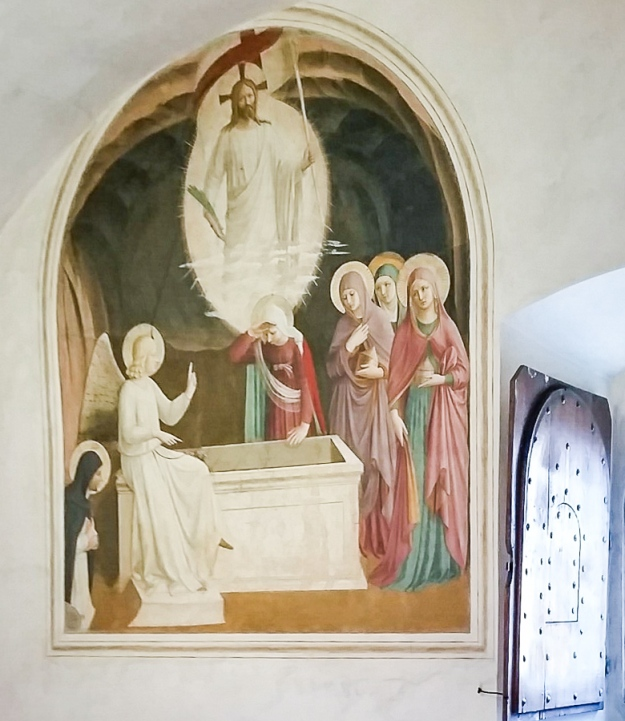 Fresco by Fra Angelico, in San Marco in Florence.