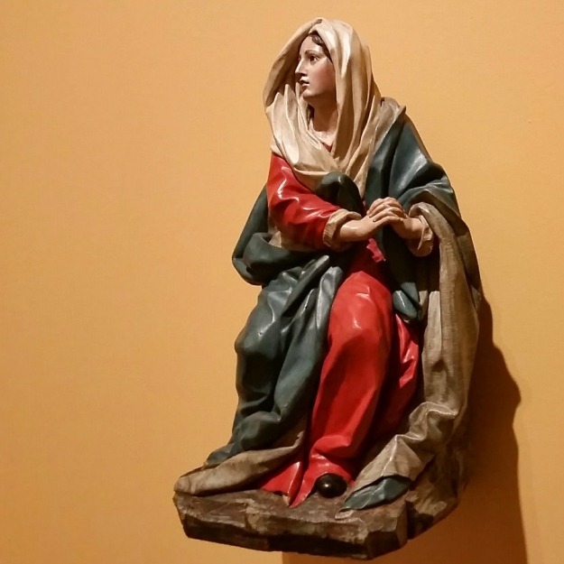Our Lady of Sorrow, by Juan Pascual de Mena, in the Bilbao Fine Arts Museum