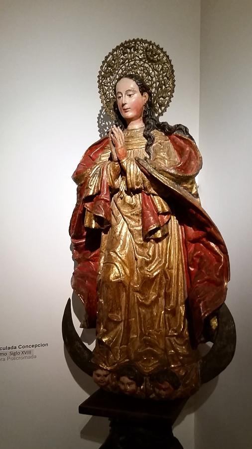Mary, by a Native American artist in Peru.