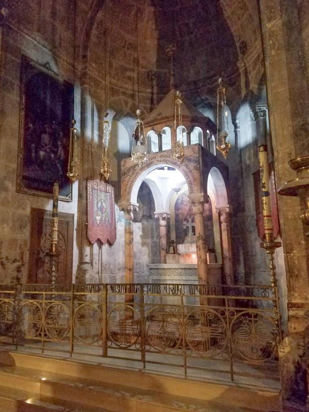 An Armenian altar