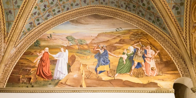 From the Church of the Visitation.
